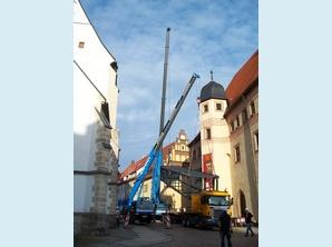 Freiberg, Stadt-und Bergbaumuseum erhält einen Aufzug
