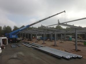 Stahlbau Verkehrsbetriebe Freiberg